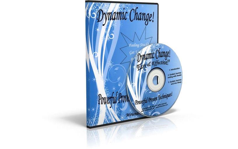 Dynamic Change CD Box Shot